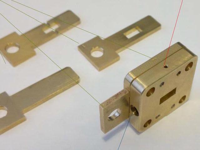 Волноводная измерительная кассета СМРМ-08R