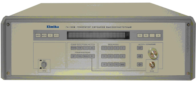 Генератор стандартных сигналов Г4-199М диапазон частот 78.33 - 118.1ГГц
