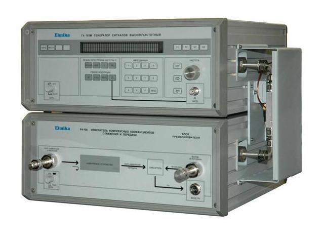 Измеритель комплексных коэффициентов отражения и передачи Р4-100 диапазон частот 129.2-142.8 ГГц